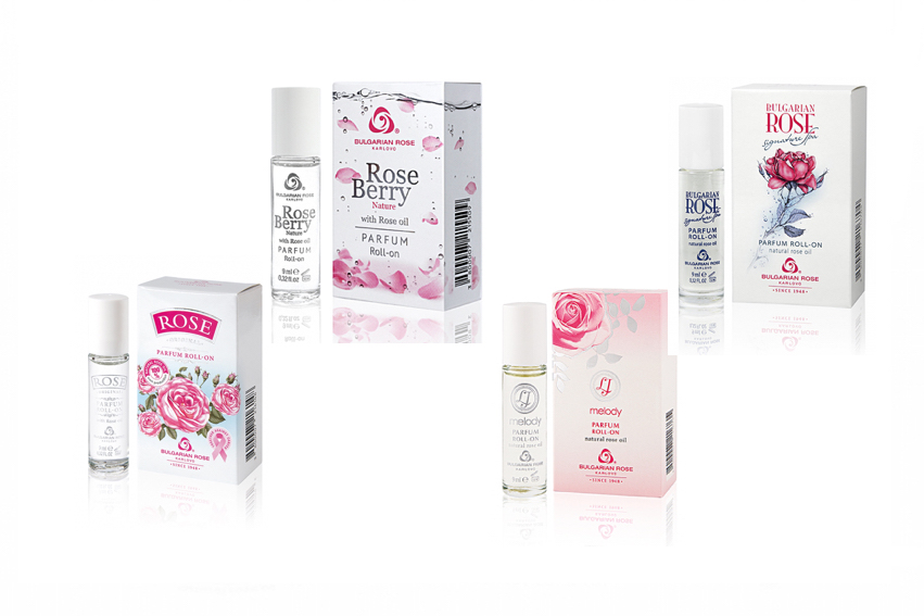 アロマの城 ロールオン香水4点セットキャンペーン